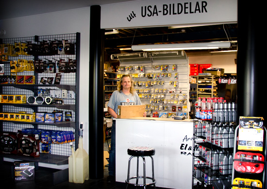 Webbshop USA-bildelar